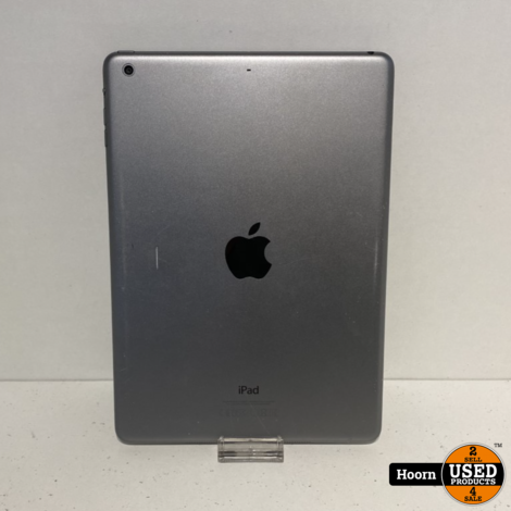 iPad Air 1 16GB Wifi Space Gray Losse Tablet met Nieuw Scherm en Lader