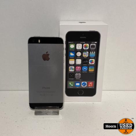 iPhone 5S 64GB Space Gray in Doos incl. Lader Gebruikte Staat
