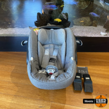 Cybex Anton Q Plus Maxi-Cosi Baby Autostoeltje Manhattan Grey 0-13KG isofix ZGAN
