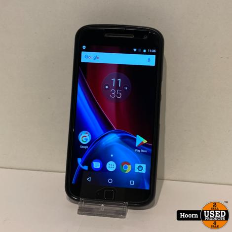 Motorola Moto G4 Plus 16GB Dual-Sim Zwart Los Toestel incl. Lader