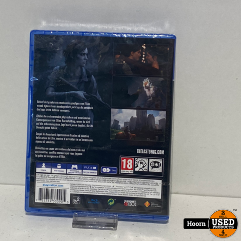 Playstation 4 Game: The Last Of Us Part II Nieuw in Seal