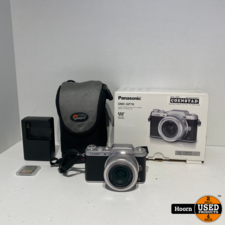Panasonic Lumix G DMC-GF7K 16MP Systeem Camera incl. Panasonic 12-32mm Lens Compleet in Doos