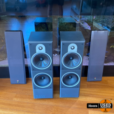 B&W DM620i HiFi Speaker Set Zwart 100W in Nette Staat