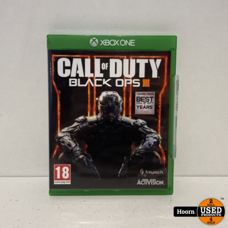Xbox one Game: Call of Duty Black Ops 3