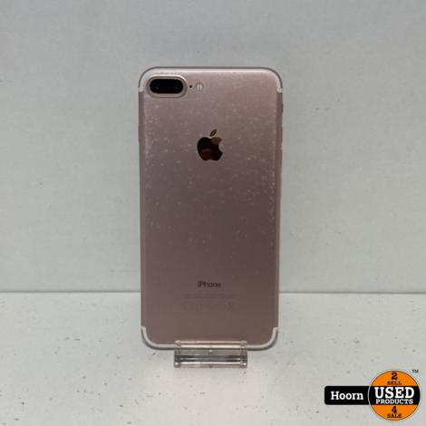 iPhone 7 Plus 32GB Rose Gold Los Toestel incl. Lader Accu 100%