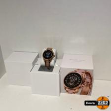 Michael Kors Bradshaw Display Smartwatch Gen 5 MKT5090 Rose Gold Nieuw in Doos