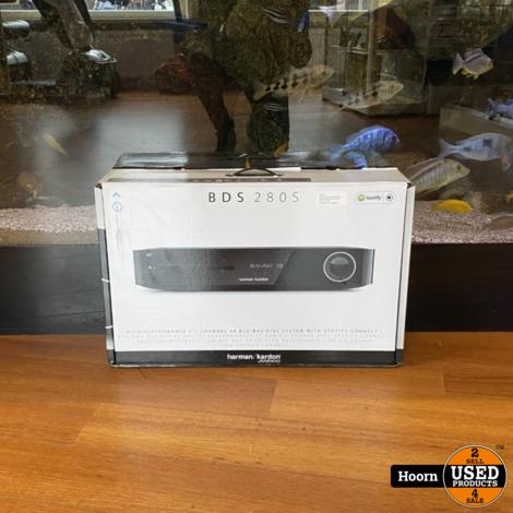 Harman Kardon BDS 280S 2.1 Receiver/Versterker Zwart Nieuw in Doos