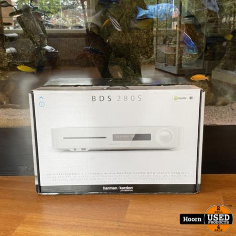 Harman Kardon BDS 280S 2.1 Receiver/Versterker Wit Nieuw in Doos