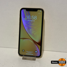 iPhone XR 64GB Yellow Los Toestel incl. Lader Accu:100%