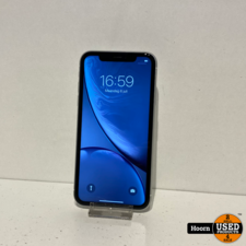 iPhone XR 64GB White Los Toestel incl. Lader Accu: 93%