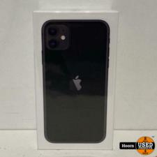 iPhone 11 128GB Black Nieuw in Seal met Bon