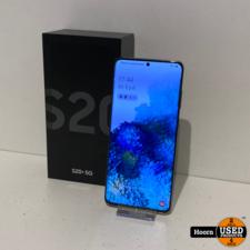 Samsung Galaxy S20 Plus 5G 128GB Dual-Sim Cosmic Gray ZGAN Compleet in Doos