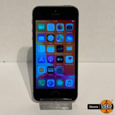 iPhone SE 16GB Space Gray Los Toestel incl. Lader Accu: 92%