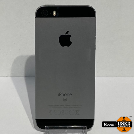 iPhone SE 16GB Space Gray Los Toestel incl. Lader Accu: 85%