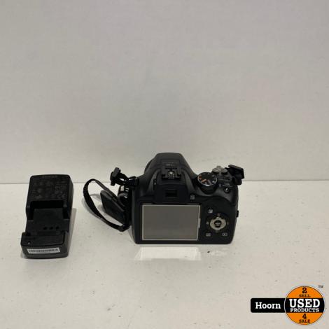 Fujifilm Finepix SL240 14MP CompactCamera incl. Accu en Lader