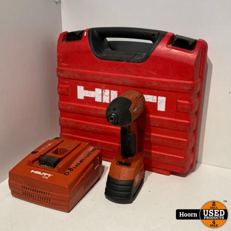 Hilti SID 121-A Schroefmachine incl. 1x 12V 3.0Ah Accu en Lader in Koffer