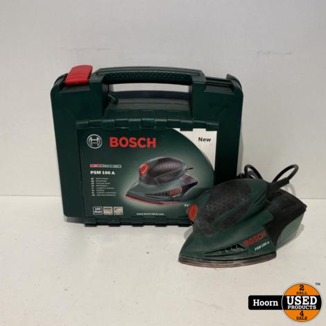 Bosch PSM 100 A Multi Schuurmachine in Koffer