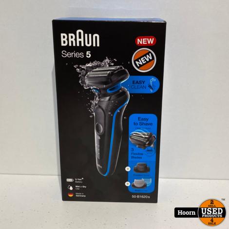Braun Series 5 50-B1620s Elektrisch Scheerapparaat Blauw Nieuw in Doos