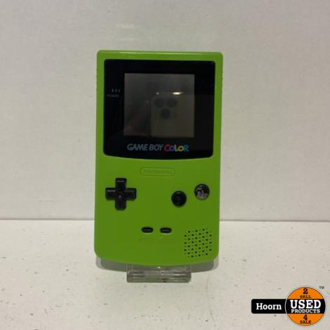 Nintendo Game Boy Color Groen met Lader