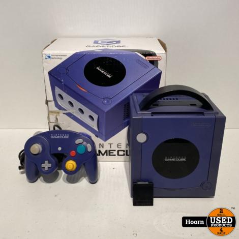 Nintendo Gamecube Paars in Doos incl. Controller