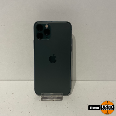 iPhone 11 Pro 64GB Midnight Green Los Toestel incl. Lader Accu: 100%