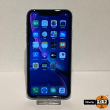 iPhone XR 64GB Blauw Los Toestel incl. Lader Accu: 90%