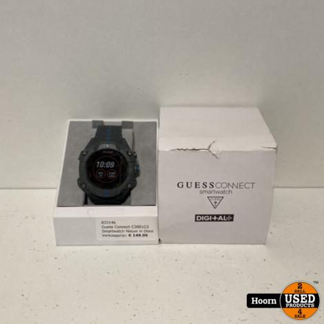 Guess Connect C3001G3 Smartwatch Nieuw in Doos