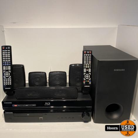 Samsung BD-P1650 Blu-Ray/DVD 5.1 Home Cinema Set Compleet