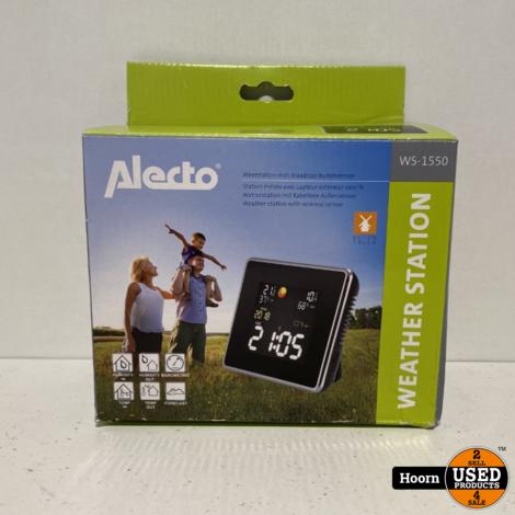 Alecto WS-1550 Weerstation met Draadloze Buitensensor Nieuw in Doos