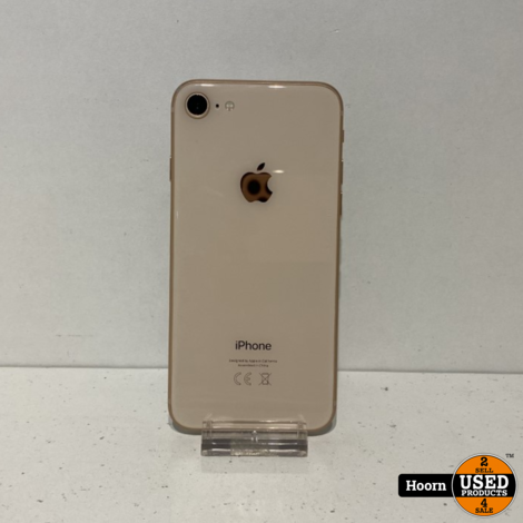 iPhone 8 64GB Gold Los Toestel incl. Lader Accu: 91%
