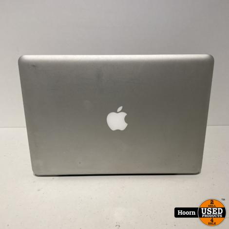 MacBook 13 inch Aluminium Eind 2008   2GHz intel Core 2 Duo   8GB RAM   160GB HDD incl. Lader