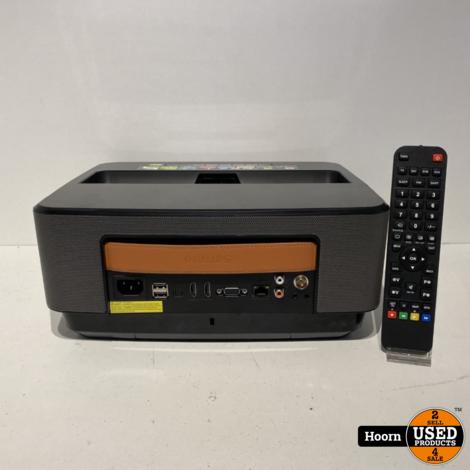 Philips Screeneo HDP1590 Smart LED Projector/Beamer Ultra Short Throw incl. Afstandsbediening in Zeer Nette Staat