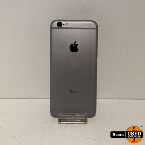 iPhone 6 32GB Space Gray Los Toestel incl. Lader Accu: 100%