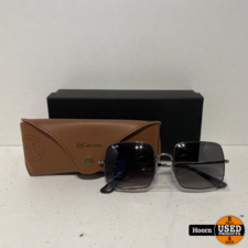 Ray-Ban RayBan Square RB1971 004/71 54/19 Black Zonnebril ZGAN Compleet
