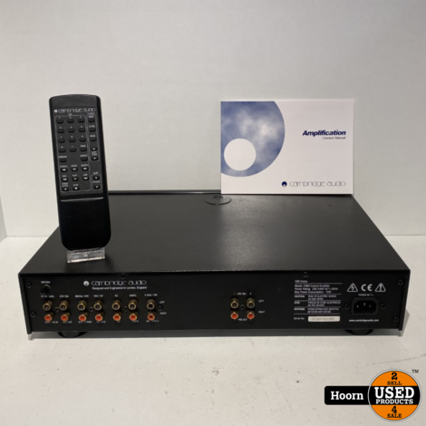 Cambridge Audio C500 Control Amplifier incl. Afstandbediening en Boekjes