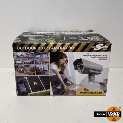 Mr Safe Outdoor HD IP Camera Pro ZGAN Compleet in Doos