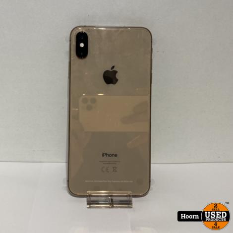 iPhone XS Max 64GB Gold Nieuw Toestel met Lader, Zonder Doos