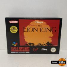 Nintendo Super Nintendo SNES Game: the Lion King Compleet in Doos
