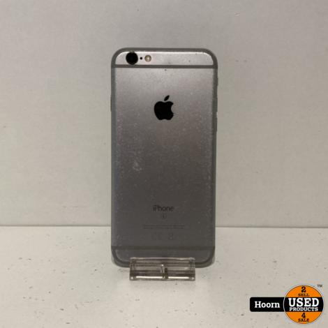 iPhone 6S 32GB Space Gray Los Toestel inc. Lader Accu: 85%