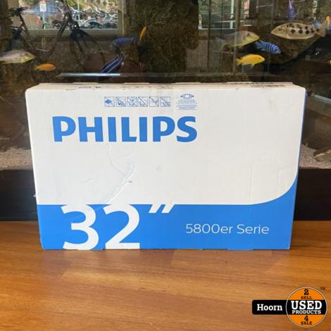 Philips 32PFS5803/12 32'' Full-HD LED Smart TV Nieuw in Doos met Bon