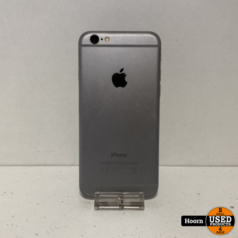 Apple iPhone 6 16GB Space Gray Los Toestel incl. Lader Accu: 96%