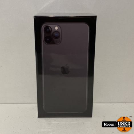iPhone 11 Pro Max 512GB Space Gray Nieuw in Seal