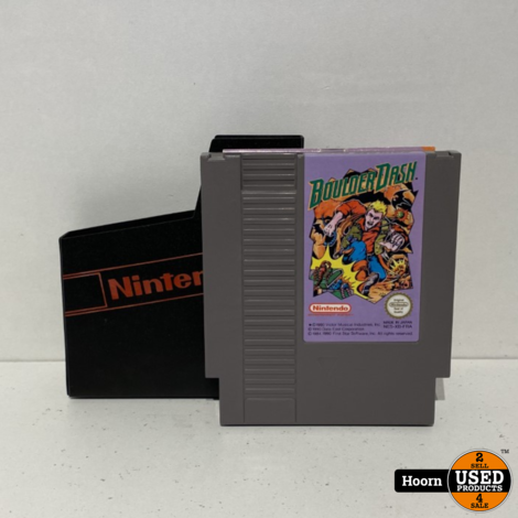 Nintendo NES Game: Boulder Dash Losse Cassette
