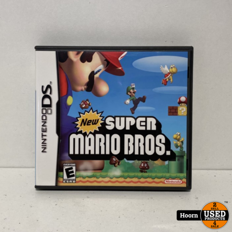Nintendo DS Game: New Super Mario Bros Compleet
