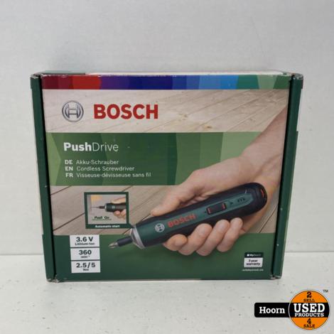 Bosch PushDrive Accuschroevendraaier 3,6 V Nieuw in Doos