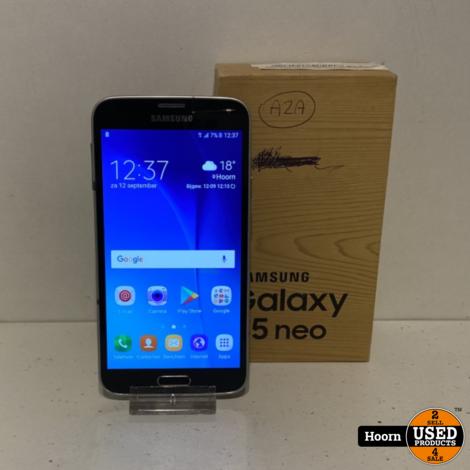 Samsung Galaxy S5 Neo 16GB Zwart in Doos incl. Lader