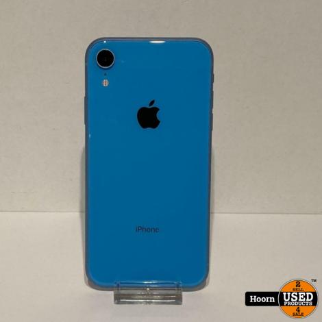 iPhone XR 64GB Blauw Los Toestel incl. Lader Accu: 87%