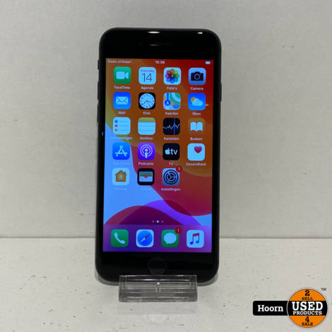 iPhone 8 64GB Space Gray Los Toestel incl. Lader Accu: 98%