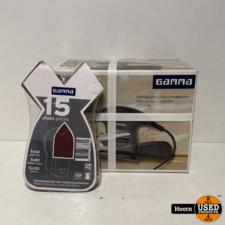 Gamma HS200W Handpalm schuurmachine Nieuw in Doos