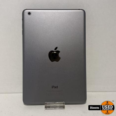 Apple iPad Mini 1 16GB Wifi Space Gray incl. Lader